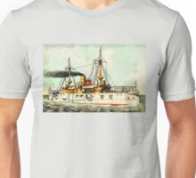 The USA Battleship Texas - Old Hoodoo Unisex T-Shirt