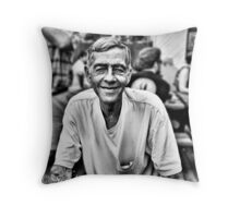 Rufus, by Sid Pena Throw Pillow