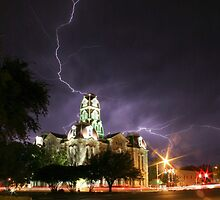 Weatherford Court House by Jared Lindsay