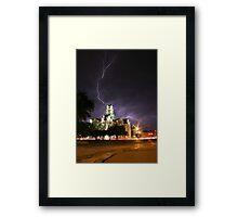 Weatherford Court House Framed Print
