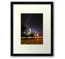 Weatherford Court House Framed Print