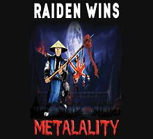 Raiden Wins Metalality (Iron Maiden) T-Shirt