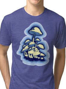 magic mushrooms Tri-blend T-Shirt