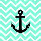 Tiffany Zigzag Chevron Pattern Anchor by RexLambo