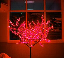 Christmas Red Tree. by Vitta