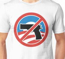 I LOVE OBAMA WEAPON BAN T-shirt Unisex T-Shirt