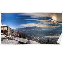 Innsbruck - Winter View Poster