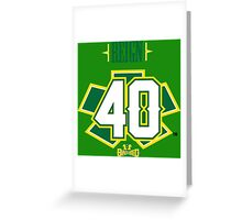 Reign 40 Greeting Card