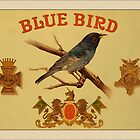 Vintage Bluebird Greetings by Yesteryears