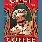 Vintage Coffee Greetings by Yesteryears