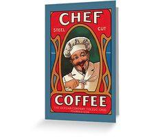 Vintage Coffee Greetings Greeting Card