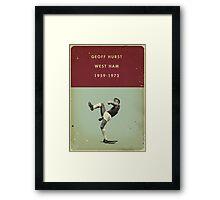 Geoff Hurst - West Ham Framed Print
