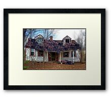 A State of Wisteria Framed Print
