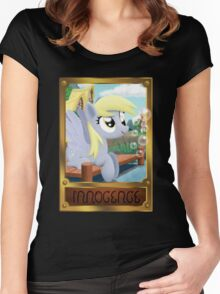 Derpy Hooves - Element of Innocence Women's Fitted Scoop T-Shirt