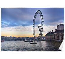 View from Westminster Bridge Poster