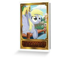Derpy Hooves - Element of Innocence Greeting Card
