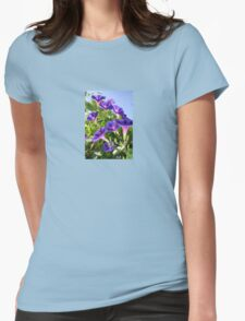Deep Purple Morning Glory Climbing Plant T-Shirt