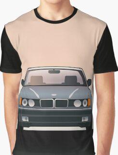 Modern Euro Icons Series Bmw E32 740i Graphic T-Shirt
