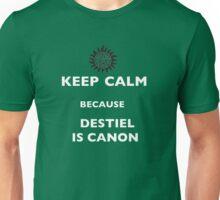 Keep Calm Destiel is Canon Unisex T-Shirt