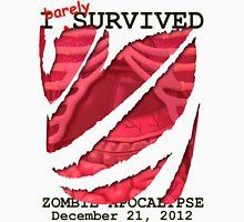 Zombie Apocalypse 2012 survivor Unisex T-Shirt