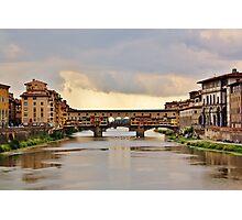 Il Ponte Vecchio Photographic Print