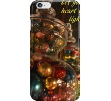 Baubles for Christmas cards iPhone Case/Skin