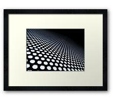 TRON- inclined plane Framed Print