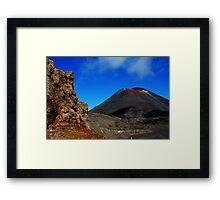 Mt Doom Framed Print