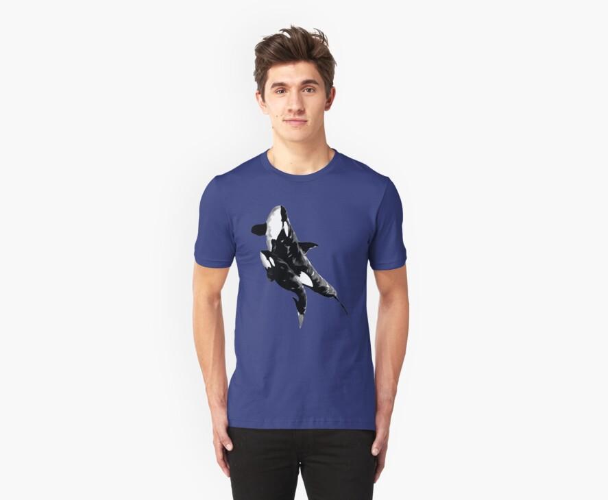 orcas t-shirt by parko