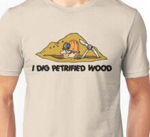 Rockhound I Dig Petrified Wood Unisex T-Shirt