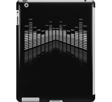 B&W Equalizer on Black iPad case iPad Case/Skin
