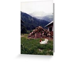 King of Karwendel Greeting Card