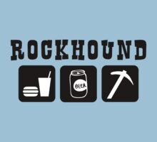 Rockhound Eat Drink Beer Go Rockhounding by SportsT-Shirts