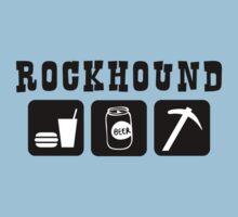 Rockhound Eat Drink Beer Go Rockhounding by SportsT-Shirts