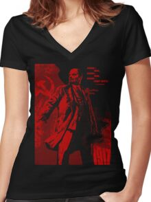 Lenin Propo Women's Fitted V-Neck T-Shirt