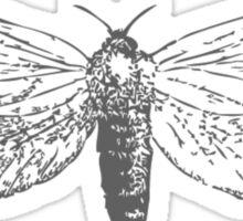 Vintage Moth Sticker