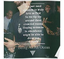 Being as an ocean Poster