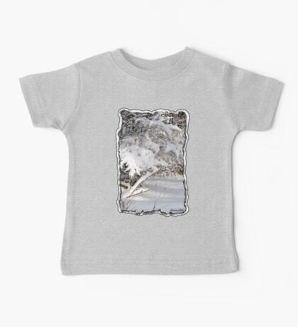 Mother Nature Wears a Bridal Gown... Baby Tee
