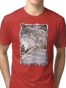 Mother Nature Wears a Bridal Gown... Tri-blend T-Shirt