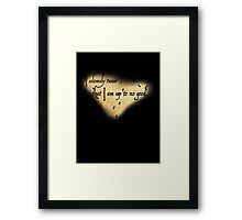 Harry Potter Marauder's Map Framed Print