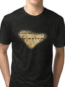 Harry Potter Marauder's Map Tri-blend T-Shirt