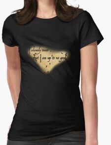 Harry Potter Marauder's Map Womens Fitted T-Shirt