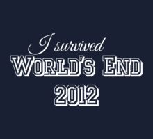I survided world's end 2012 (light version) Baby Tee