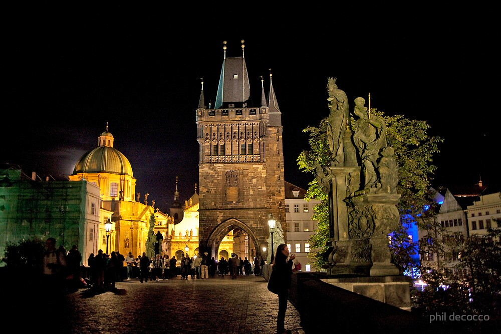 Charles Bridge, Prague by phil decocco