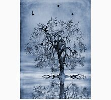 The Wishing Tree Cyanotype Unisex T-Shirt