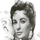 Elizabeth Taylor iPhone Cover by iphonejohn
