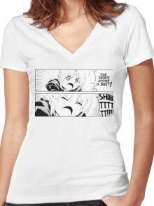 Favorite Anime Women's Fitted V-Neck T-Shirt