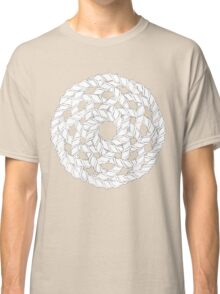Interlocking Helices Black/White Classic T-Shirt