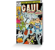 The Mighty Gaul Greeting Card