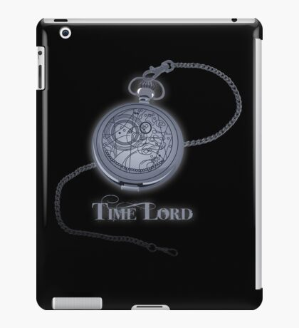 Time Lord iPad Case/Skin